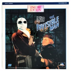 The Invisible Man (NTSC,...